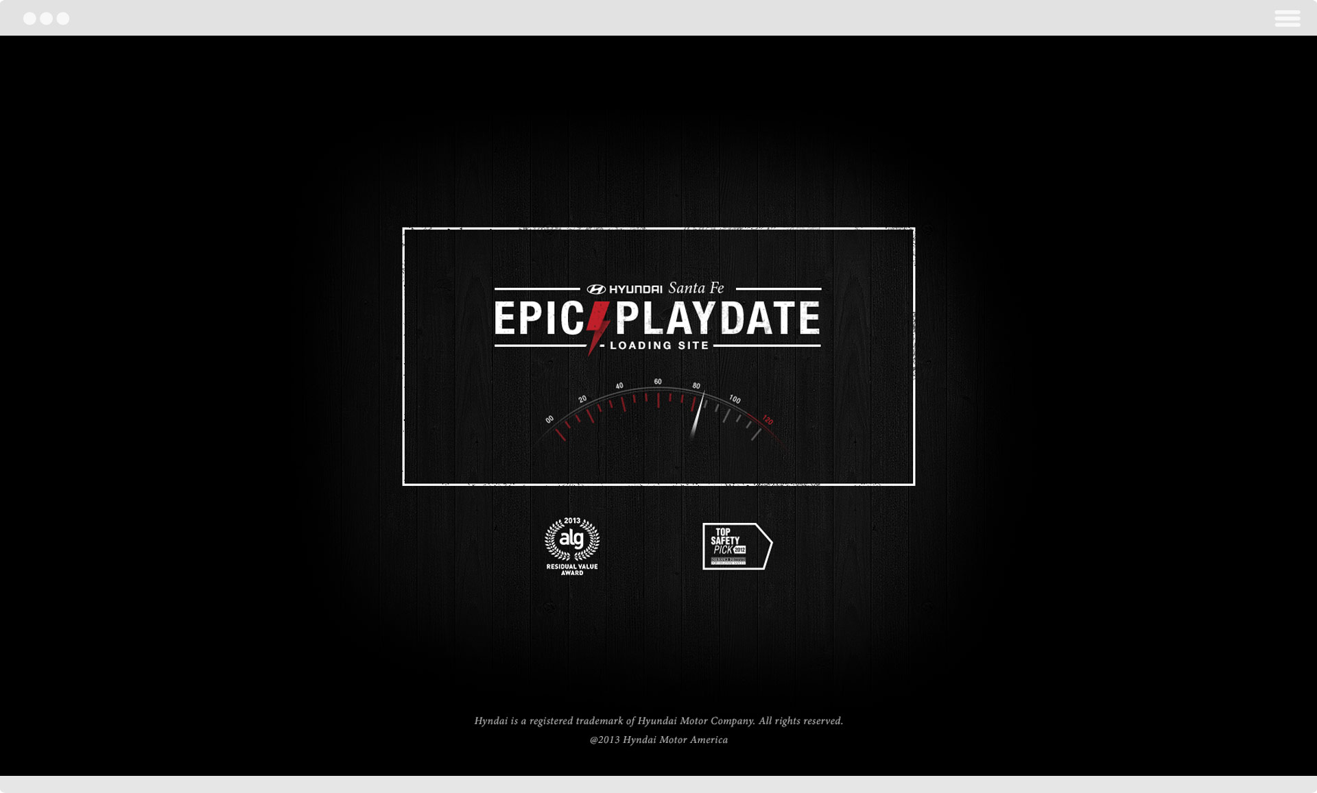 Hyundai Santa Fe Epic Playdate Loading